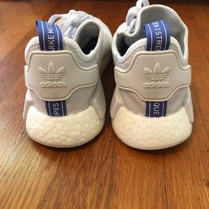 adidas Shoes - Adidas NMD size 8.5 white and blue